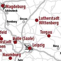die lutherorte - Martin Luther Lebenslauf