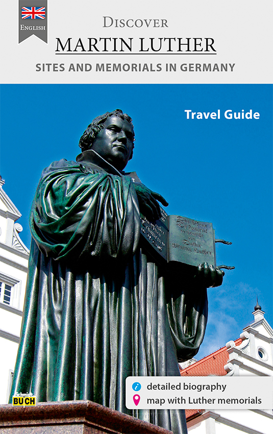 Cover des Reiseführers Discover Martin Luther