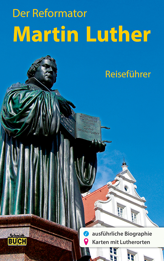 Cover des Martin Luther Reiseführers